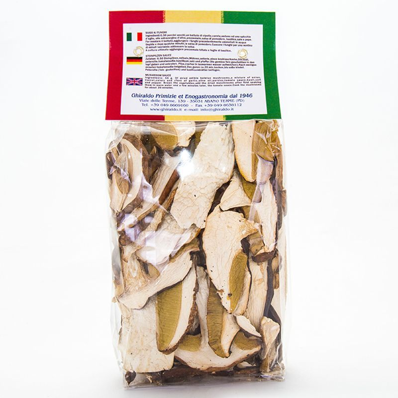 Funghi Porcini Secchi EXTRA g.100