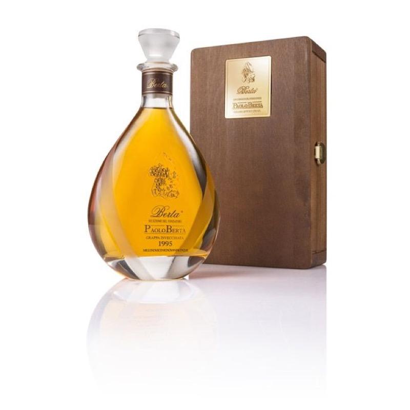 Selezione del Fondatore Paolo Berta Grappa invecchiata Distillerie Berta