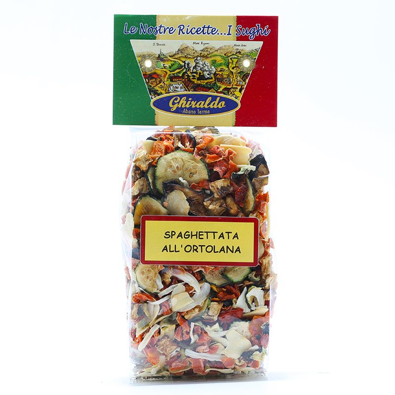 Spaghettata all'Ortolana gr.100